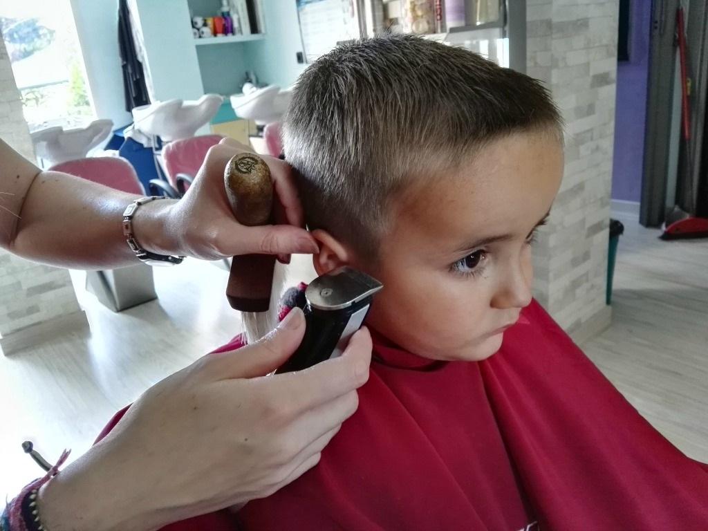 peluquería y piojos