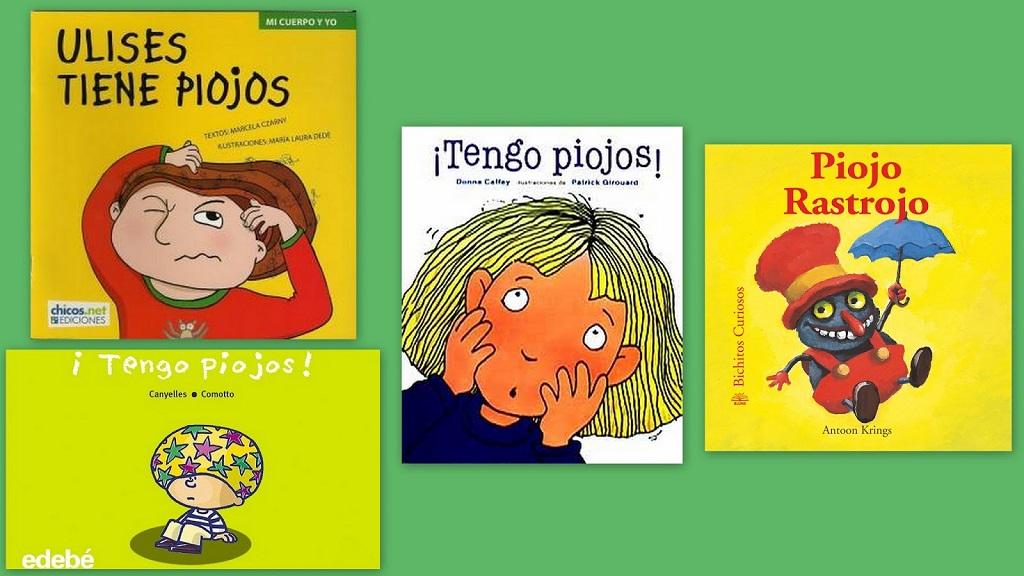Cuentos que ayudan a los niños a entender el problema de los piojos