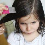 Infestación de piojos en niños