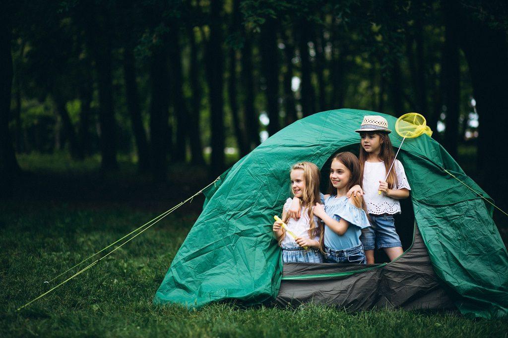 campamentos y piojos